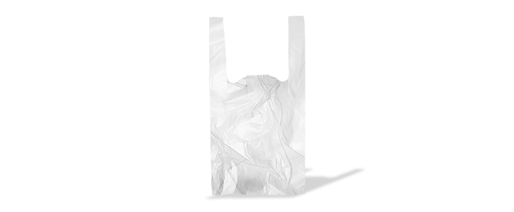 Plastic carrier bag with handles (kg)
