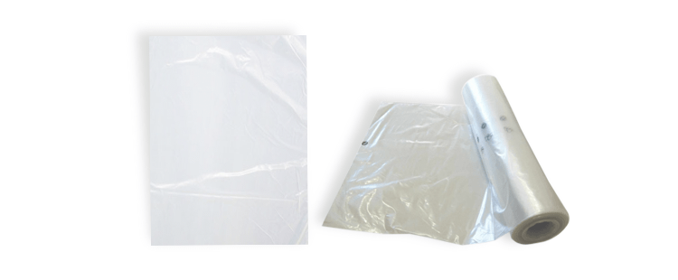 High density plastic bag without handles (10 rolls)