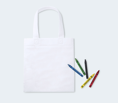 Colouring Cotton Bag Set