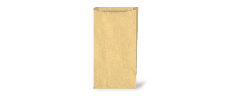 Industrial paper bag