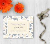 Pida un Save the Date Wedding para interactuar con sus clientes por correspondencia