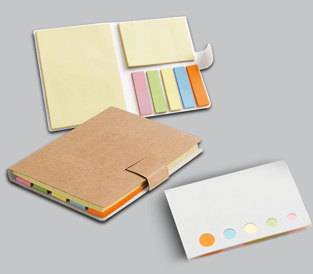 Pad of adhesive notes