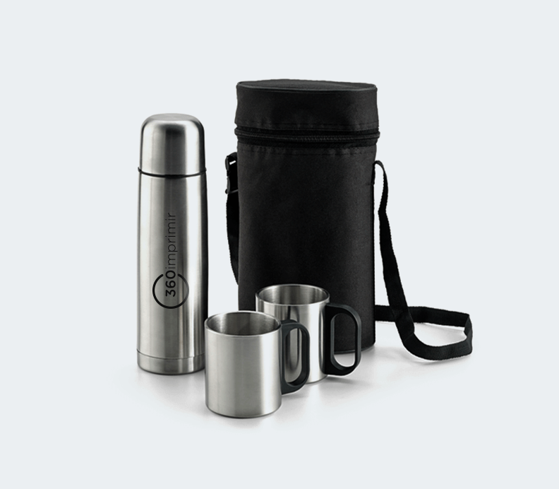 Thermos Flask and Mug Set