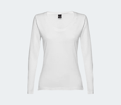 Long Sleeve T-Shirt for Women Customised with your design