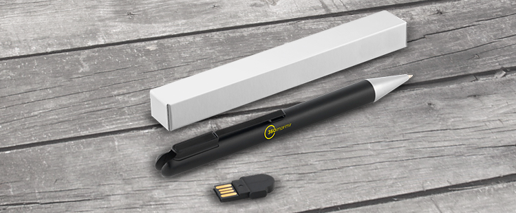 pen with flash drive